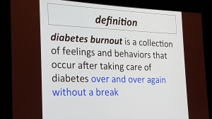 Conferences like this help with diabetes burnout